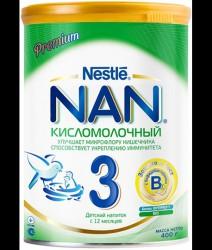 Смесь молочная, НАН 400 г 3 Премиум кисломолочный