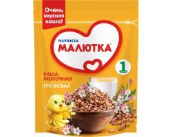 Каша молочная, Малютка 220 г гречка с 4 мес