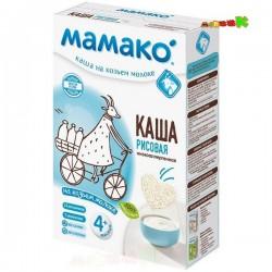 Каша молочная, Мамако 200 г рисовая на козьем молоке с 4 мес