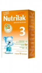 Молочко детское, Нутрилак 350 г 3 старше 12 мес