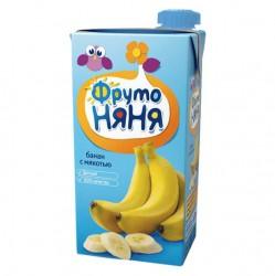 Сок, Фрутоняня 500 мл нектар банан с 9 мес.