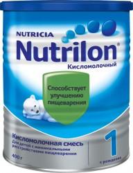 Смесь молочная, Нутрилон 400 г 1 Кисломолочный с рождения